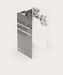 copyright Mike Hofmaier mikhof Kommunikationsdesign Gestaltung Schlagwort Brot